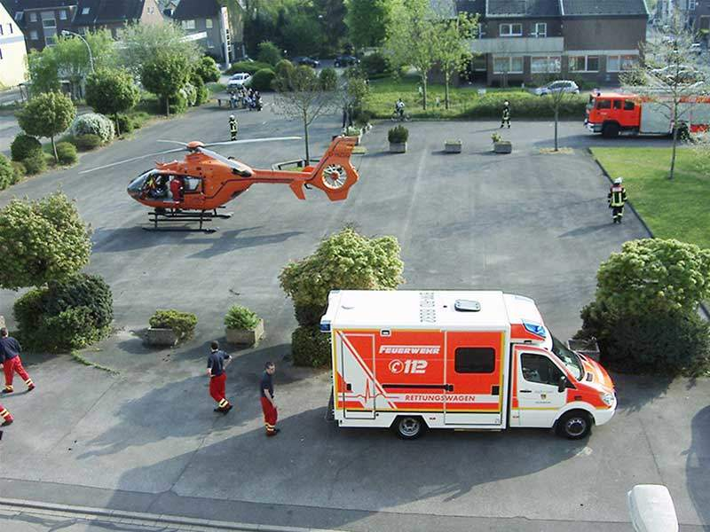 Helicopter Ambulance Infrastructure in Europe 1